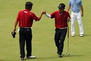 2011年 韓日プロゴルフ対抗戦 ミリオンヤードカップ 2日目 片山晋呉