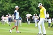 2011年 日医工女子オープンゴルフトーナメント 最終日 上原彩子&宋ボベ