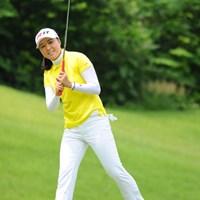 いや~、ボベも強かったなァ。最後の最後に、あわや逆転優勝っちゅうとこまでアーヤを追い詰めたもんなァ。2位 2011年 日医工女子オープンゴルフトーナメント 最終日 宋ボベ