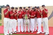 2011年 韓日プロゴルフ対抗戦 ミリオンヤードカップ 最終日 韓国チーム