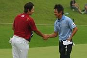 2011年 韓日プロゴルフ対抗戦 ミリオンヤードカップ 最終日 藤田寛之