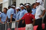 2011年 韓日プロゴルフ対抗戦 ミリオンヤードカップ 最終日 石川遼、薗田峻輔、池田勇太
