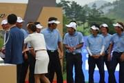2011年 韓日プロゴルフ対抗戦 ミリオンヤードカップ 最終日 河井博大