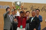 2011年 韓日プロゴルフ対抗戦 ミリオンヤードカップ 最終日 ハン・ジャンサン