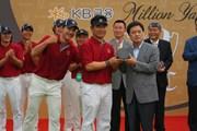 2011年 韓日プロゴルフ対抗戦 ミリオンヤードカップ 最終日 Y.E.ヤン