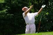 2011年 トータルエネルギーCUP PGAフィランスロピーシニアトーナメント 初日 倉本昌弘