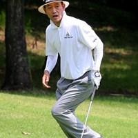 レギュラーツアーでお馴染みだった金鍾徳も、今年からシニアツアーに参戦 2011年 トータルエネルギーCUP PGAフィランスロピーシニアトーナメント 初日 金鍾徳