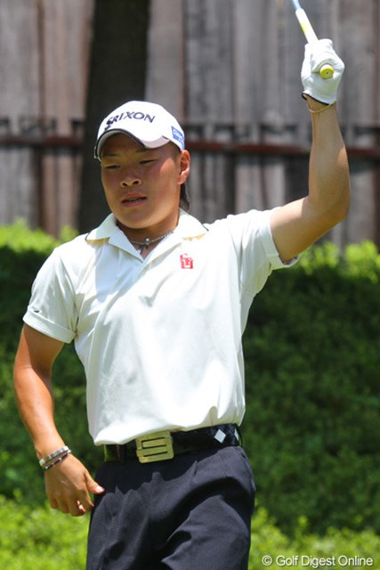 2011年 日本アマチュア選手権競技 2日目 藤本佳則 松山英樹に続き2位通過を果たした藤本佳則。こちらも優勝候補の1人です