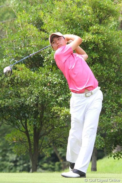 2011年 日本アマチュア選手権競技 2日目 小西健太 期待も大きかった小西健太だが、1ストローク足りずに予選敗退