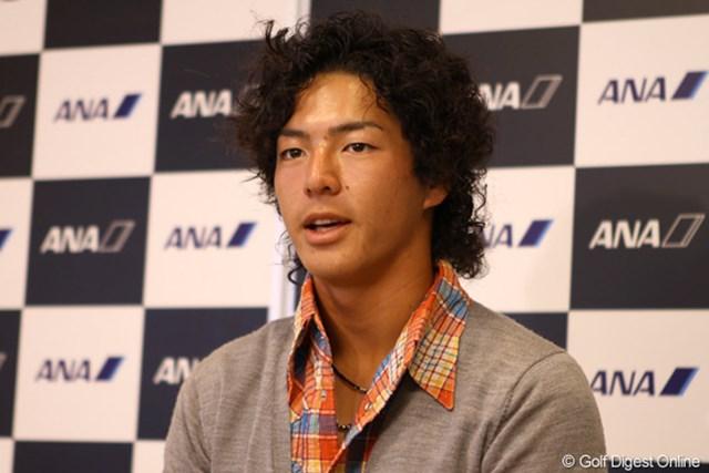 高いモチベーションで挑むメジャー大会が自身をより高めてくれると石川遼