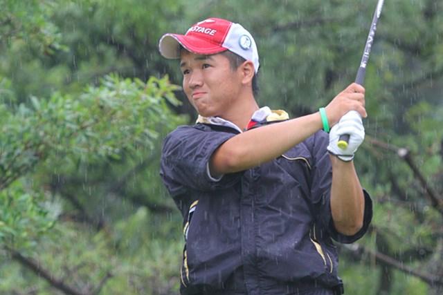 マッチプレーでは得意の粘り強さで2回戦を突破した伊藤誠道
