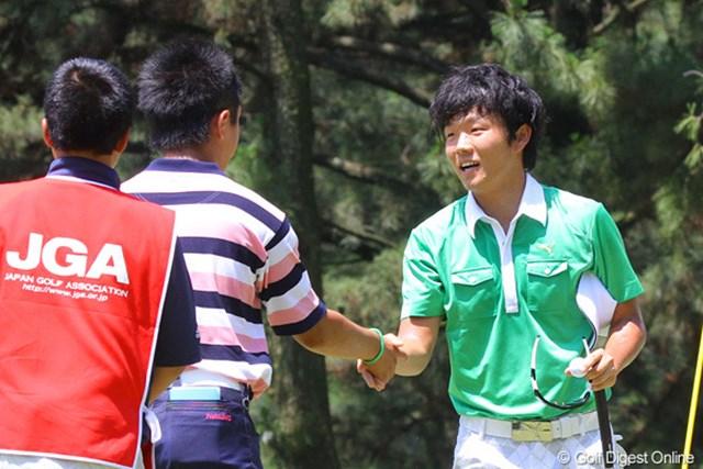 準々決勝では後輩の伊藤誠道に快勝したが、決勝戦には進めなかった