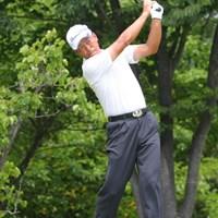 大会ホストとしての自分の役割は果たせました」と語った白浜育男 2011年 トータルエネルギーCUP PGAフィランスロピーシニアトーナメント 最終日 白浜育男