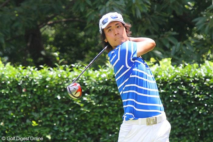 300ヤード級の飛距離で日本学生&日本アマのタイトル獲りを狙う櫻井勝之 2011年 日本アマチュアゴルフ選手権競技 4日目 櫻井勝之