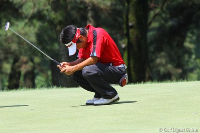 2011年 日本アマチュアゴルフ選手権競技 4日目 比嘉一貴 日本女子アマに続きダブル比嘉の優勝は果たせなかった