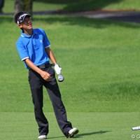 伊藤、浅地と同じく高校生で準々決勝に残ったが、櫻井に敗れた石徳俊樹 2011年 日本アマチュアゴルフ選手権競技 4日目 石徳俊樹