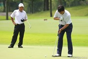2011年 トータルエネルギーCUP PGAフィランスロピーシニアトーナメント 最終日 羽川豊