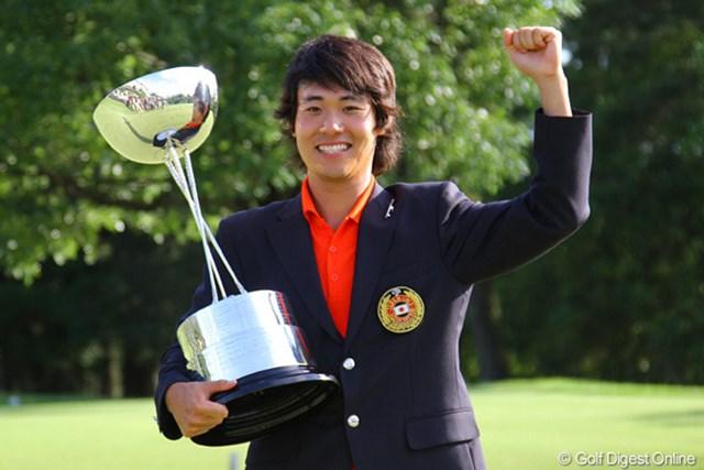 36ホールを戦い抜き、櫻井勝之が初タイトル獲得