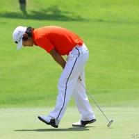 前半はパッティングが決まらず苦戦した櫻井勝之 2011年 日本アマチュアゴルフ選手権競技 最終日 櫻井勝之