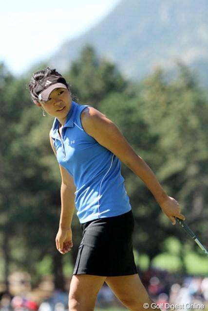 2011年 全米女子オープン 3日目 アーリン・リー ワシントン州出身の18歳。15歳で全米女子OPに出場している。今年の秋からUCLAに進学予定
