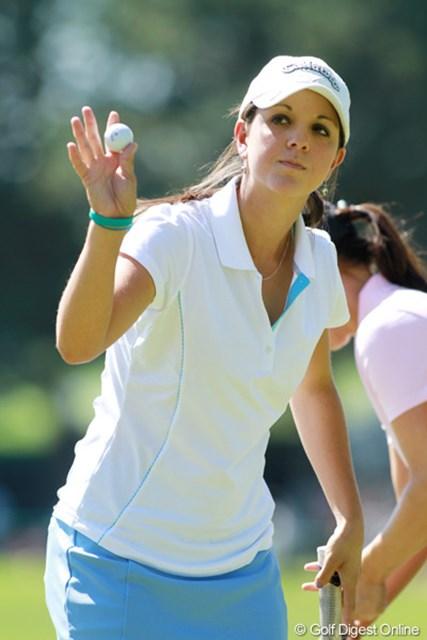 2011年 全米女子オープン 3日目 エマ・タレイ ケンタッキー州出身の17歳。アラバマ大学に進学が決まっている