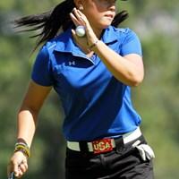 フロリダ州出身の18歳。ペパーダイン大学ゴルフ部。10年全米アマ優勝。+7で予選通過。テコンドー黒帯2段 2011年 全米女子オープン 3日目 ダニエル・カン