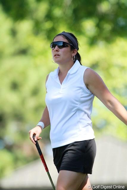 2011年 全米女子オープン 3日目 レイチェル・ロハナ ペンシルベニア州出身の20歳。J.二クラスを輩出したオハイオステート大学ゴルフ部。アマチュアながらすでにベテランの風格がある