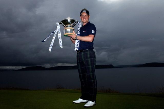 翌週の「全英オープン」に向けても弾みをつける勝利を挙げたL.ドナルド (Warren Little /Getty Images)