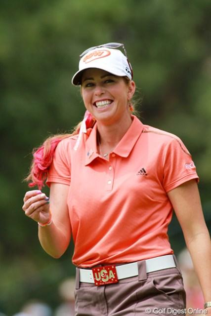 2011年 全米女子オープン 最終日 ポーラ・クリーマー ティーンエイジャーが憧れる健康美人