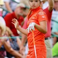 目元が魅力的なロリ系美人 2011年 全米女子オープン 最終日 ヤン・スージン