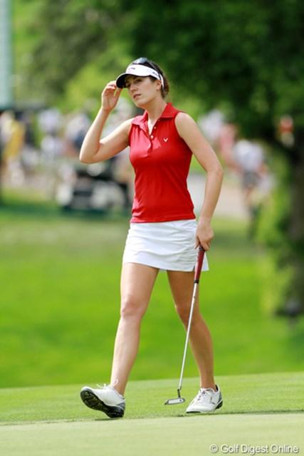 2011年 全米女子オープン 最終日 サンドラ・ガル ドイツが生んだ才色兼備長身美人