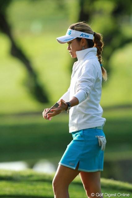 2011年 全米女子オープン 最終日 ジェーン・チュア マレーシアから来たキューティ美人