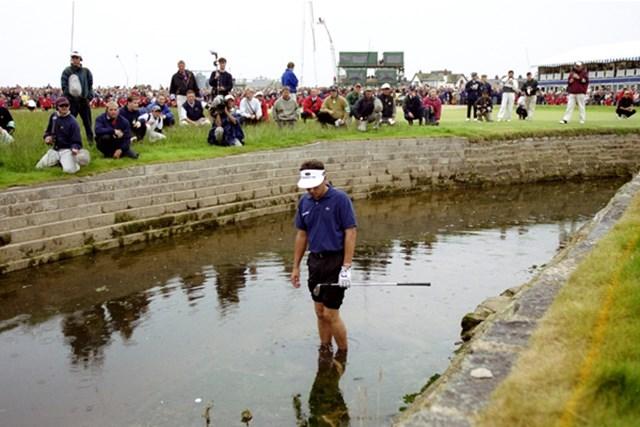 1999年、メジャー初優勝に挑み、ついにはバリー・バーンへと迷い込んだジャン・バンデベルデ