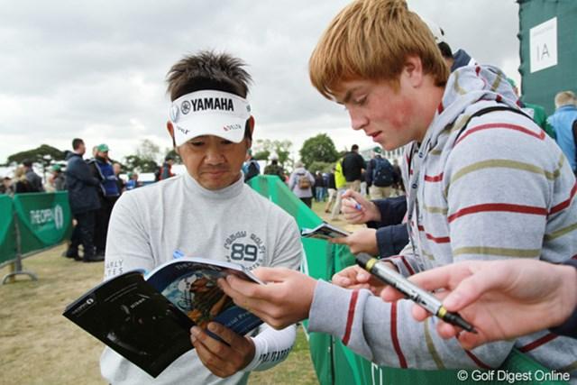 石川遼と同じく今大会が今年3度目のメジャー。名前も徐々に浸透してきた