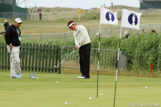 高山忠洋/2011年 全英オープン 予選ラウンドはJ.フューリック、そしてB.ランガーという豪華な組み合わせ