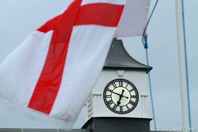 2011年 全英オープン事前情報 イングランド イングランド国旗がたなびく会場に、世界中から猛者が集まった
