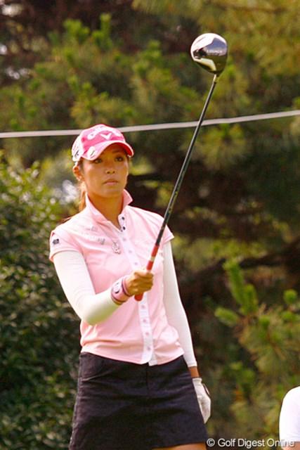甲田良美/2011年 スタンレーレディス事前 現在は同シリーズのアイアンもテスト中という甲田良美