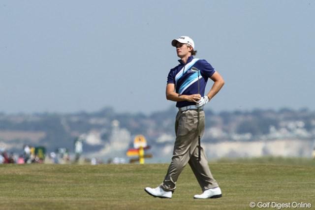 2011年 全英オープン 2日目 トム・ルイス スーパーアマチュアのトム・ルイスは決勝ラウンドでさらなる活躍を誓った