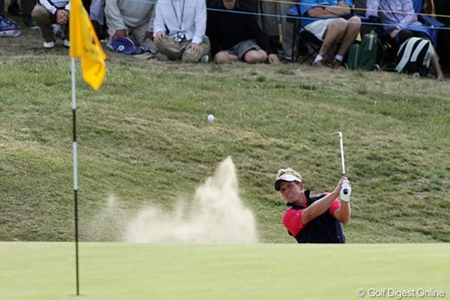 2011年 全英オープン 2日目 ルーク・ドナルド 2日目は本来のショートゲームが冴えず、まさかの予選落ちとなったルーク・ドナルド