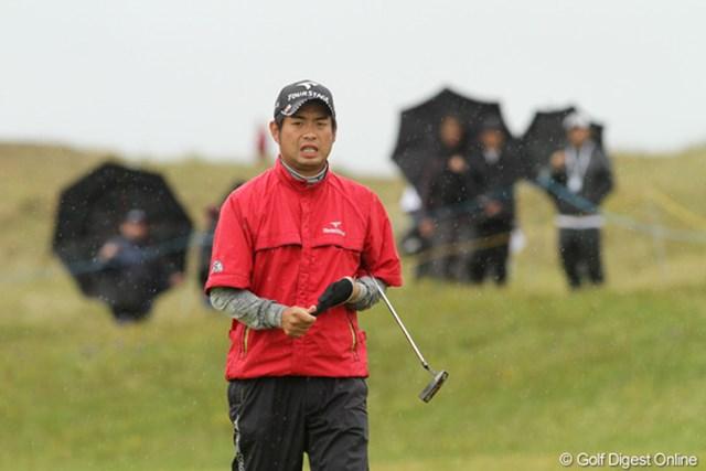 ボギーが先行し耐えるゴルフとなった3日目の池田勇太