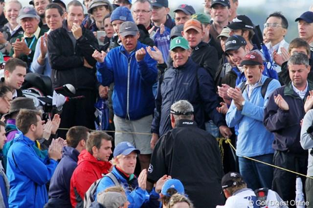 2011年 全英オープン 3日目 欧州 ホームの選手に対する地元ファンの声援は一味違う