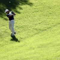 17番セカンドでシャンク、3打目は引っ掛けです。 2011年 スタンレーレディスゴルフトーナメント 最終日 野村敏京