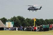 2011年 全英オープン 最終日 ヘリポート