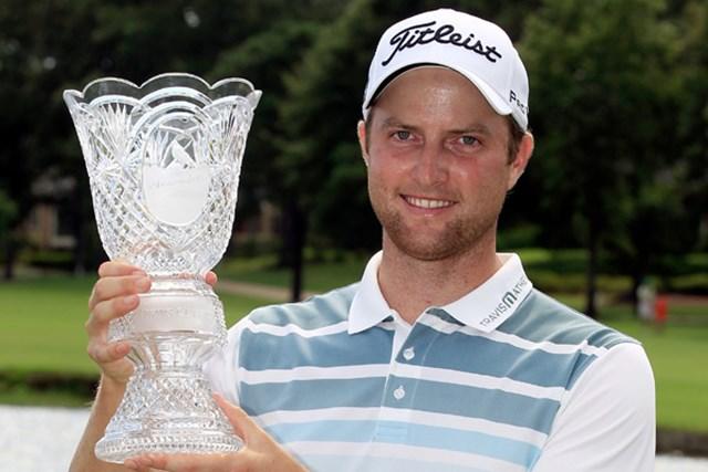 プロ転向4年目、26歳のクリス・カークがツアー初勝利を飾った(Sam Greenwood/Getty Images)