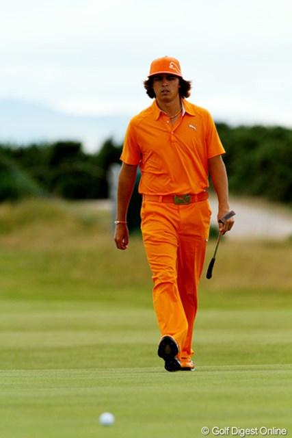 母校オクラホマ州立大のカラーであるオレンジ色をまとい、最終日に臨むのが恒例となっている!?