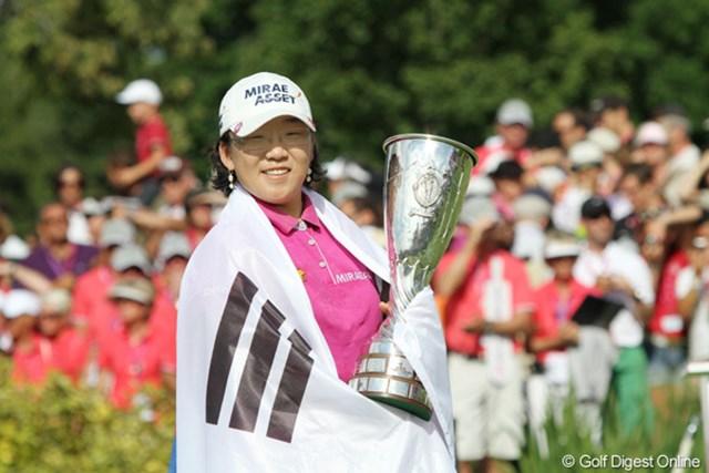 2011年 エビアンマスターズ 事前 申智愛 昨年の大会では申智愛がシーズン初勝利を飾り、世界ランク首位に返り咲きを果たした