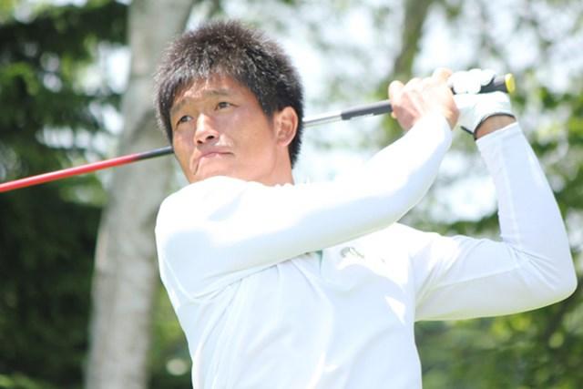 チャレンジツアー4勝目に向け首位に立った清田太一郎
