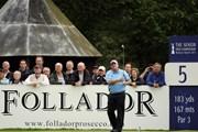 2011年 全英シニアオープン 初日 マーク・カルカベッキア