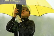 2011年 エビアンマスターズ 初日 雨