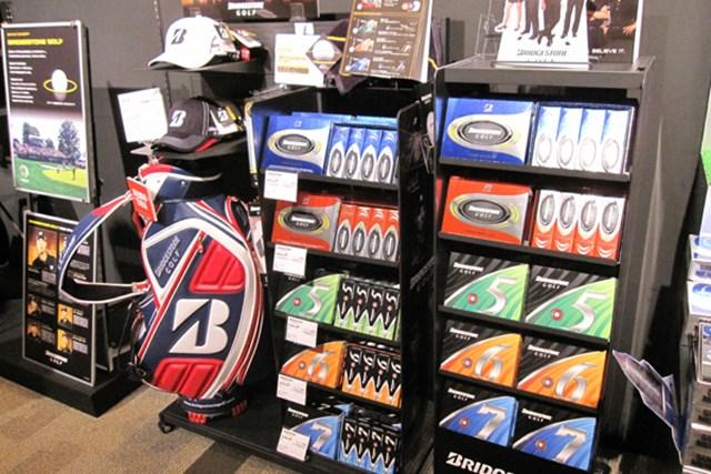 「ブリヂストンゴルフ」ブランドが日本に上陸